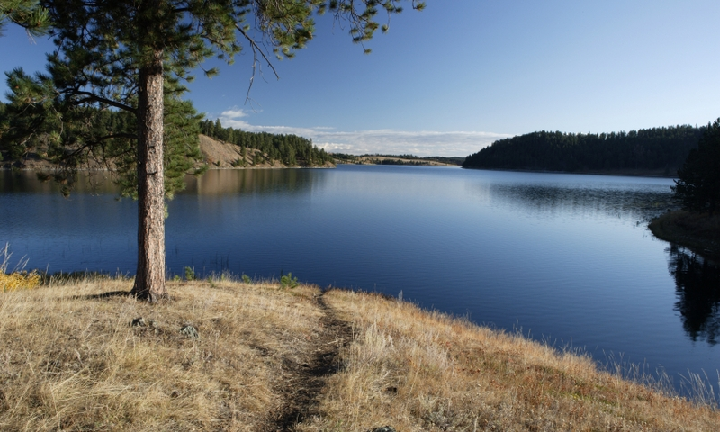 Deerfield Lake in Black Hills National Forest