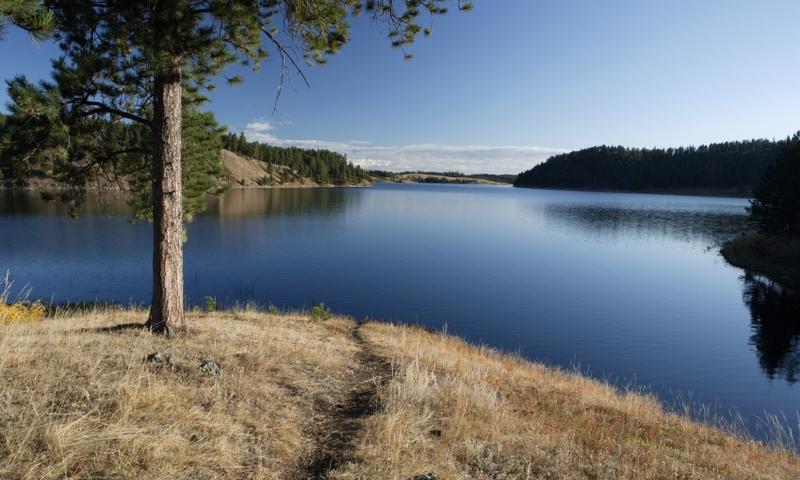 Deerfield Lake Black Hills National Forest South Dakota