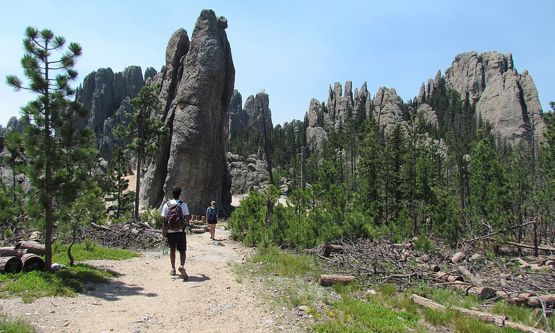 Hiking to Harney Peak in the Black Hills