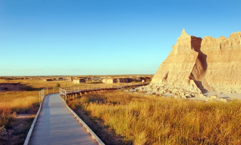 Badlands National Park South Dakota Hiking Trail