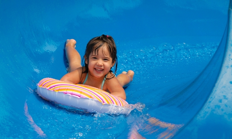Waterslide Swimming Kids Family Water Slide
