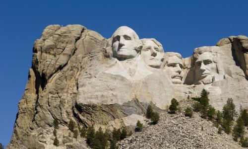 Mount Rushmore Memorial South Dakota